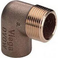Угольник пайка 18 х 1/2 НР 107635 Viega