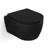 Унитаз подвесной SSWW CT2019V 487X365X335 мм,черный