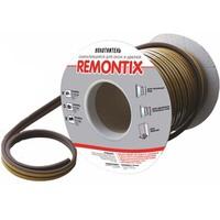 Уплотнитель самоклеящийся Remontix D100 коричневый 9х8мм