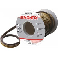 Уплотнитель самоклеящийся Remontix Е150 белый 9х4мм