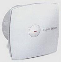 Вентилятор осевой 98 куб.м/час 15Вт 230В настенный (диам.шахты 100 мм) автоматические жалюзи белый серия X-Mart