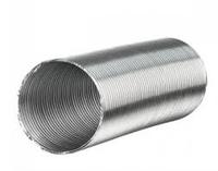 Воздуховод алюминиевый гофрированный D=150, L= 3 м.