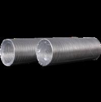 Воздуховод алюминиевый гофрированный D=160, L= 1,5 м.