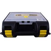 Ящик для электро и пневмоинструментов с органайзером в крышке, пластмассовый (21001) 35,9х32,4х13,7см