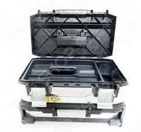 Ящик для инструментов 20 двухсекционный, металлопластиковый гальванизированный