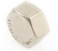 Заглушка 1/2 ВР латунь/никель GF ( уп.10 шт.)